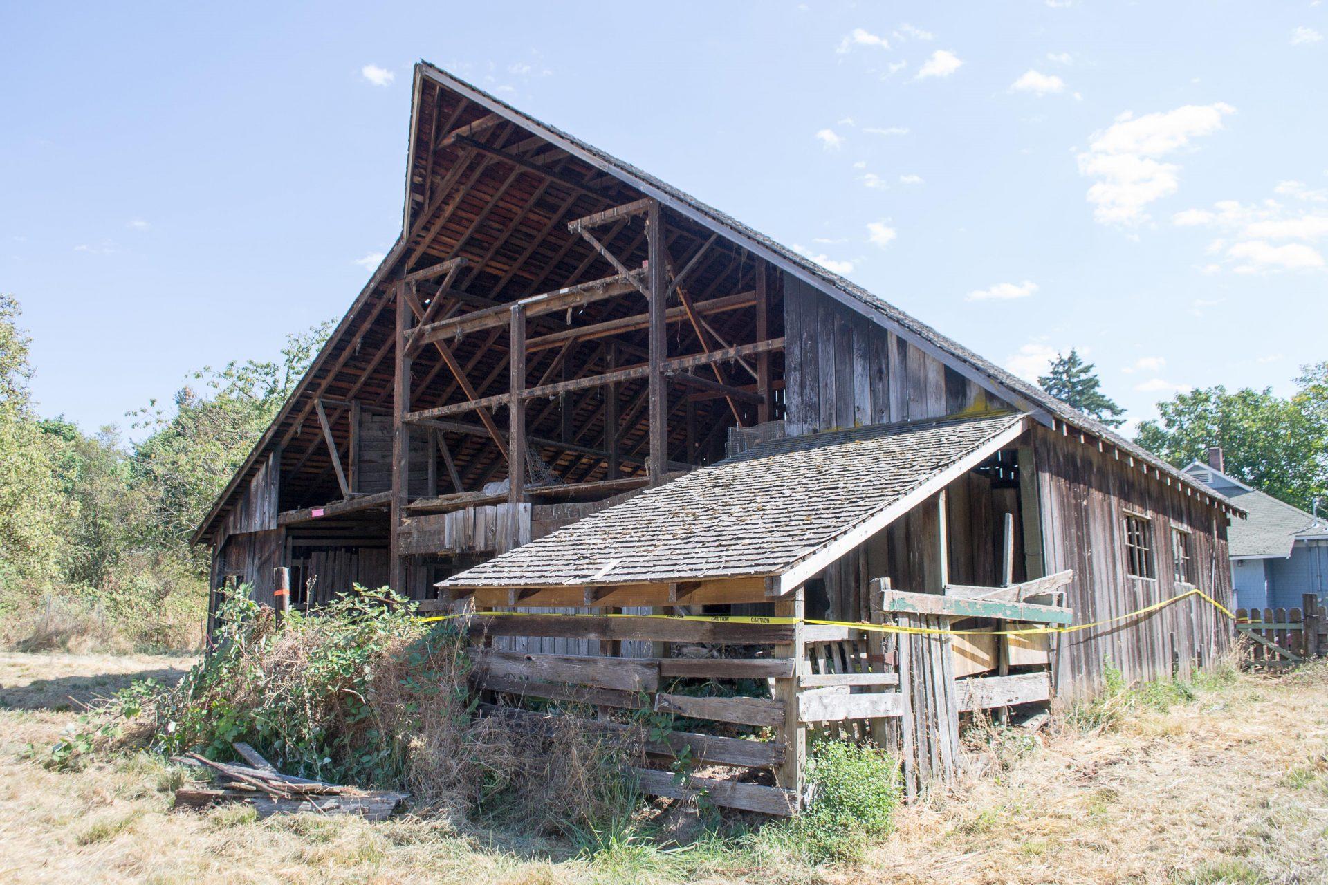 boerderij klaar voor de sloop