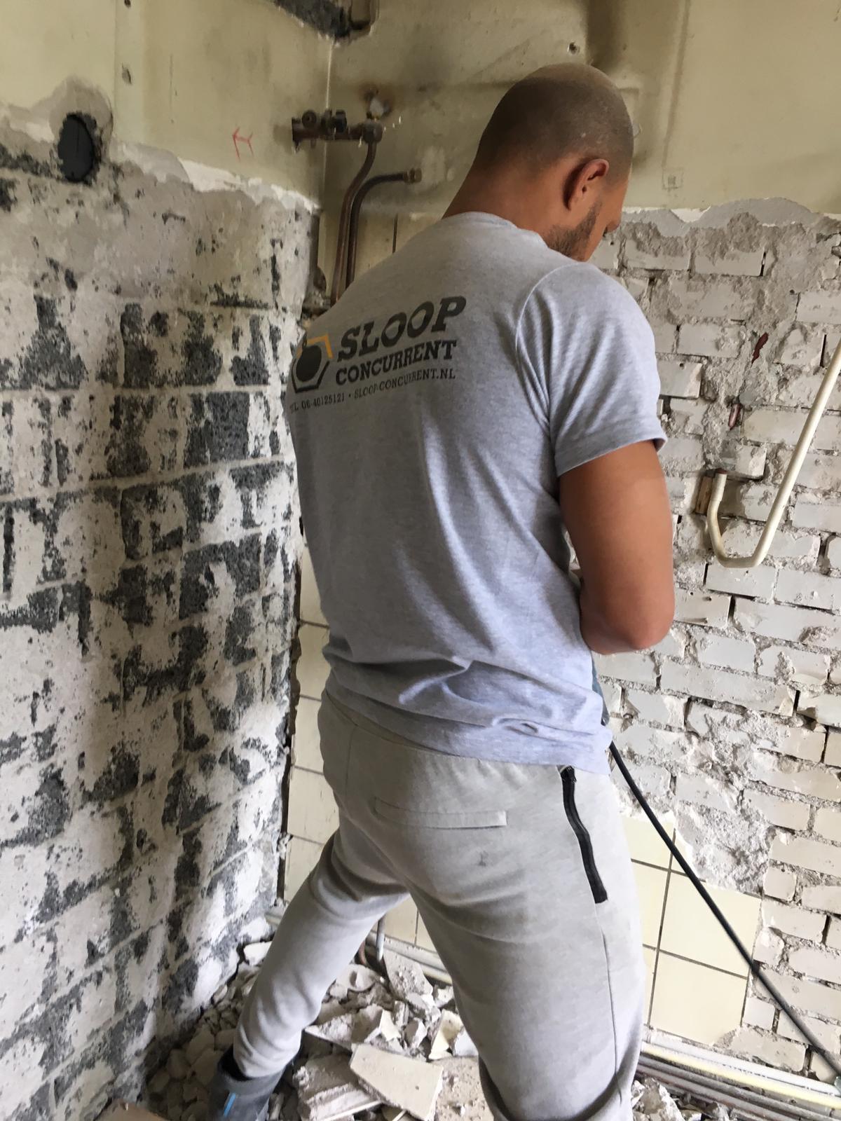 wandtegels verwijderen keukenmuur
